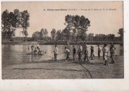Grisy Sur Seine Passage De La Seine Par Le 29 Dragons - France