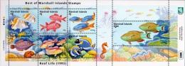 Marshall Islands 2015 Reef Life Fishes Minisheet MNH - Pesci