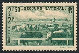 FRANCE 1940 - Yv. 469 *   Cote= 2,80 EUR - Au Profit Du Secours National. Elevage ..Réf.FRA27261 - Francia
