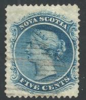 Nova Scotia 1860 5c - Used - Nova Scotia