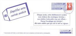 """LCH - FRANCE PSEUDO ENTIER """"SIMPLIFIEZ VOTRE RENTREE SCOLAIRE"""" - Entiers Postaux"""