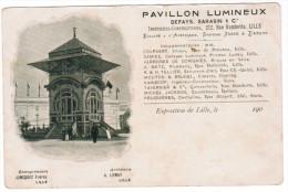 Lille, Exposition 1902, Pavillon Lumineux (pk20100) - Lille
