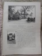 EN ALLEMAGNE: ROTHEMBOURG ET WURTZBOURG.  Eugene Muntz.   1898.    (voir d�tail)