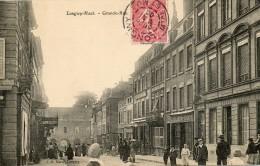 CPA - LONGWY-HAUT (54) - Aspect De La Grande-Rue En 1900 - Longwy
