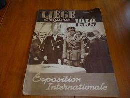CB6 Revue Sp�ciale Expo Li�ge 1939 Exposition internationale