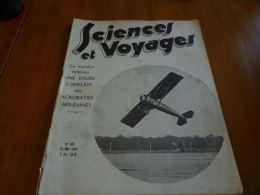 CB6 Revue Sciences et voyages - �tude compl�te des acrobaties a�riennes - aviation