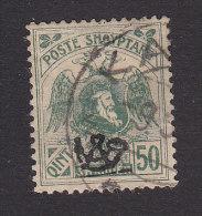Albania, Scott #133, Used, Double Headed Eagle And Skanderbeg Overprinted, Issued 1920 - Albania