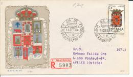Brief/Carta Spanien/España FDC - Provincia De Murcia - Madrid - 1964 - Siehe Scan *) - Spanien