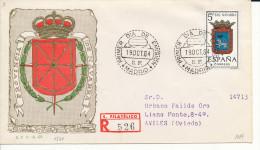 Brief/Carta Spanien/España FDC - Provincia De Navarra- Madrid - 1964 - Siehe Scan *) - Spanien