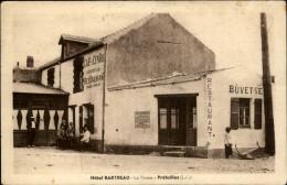 44 - PREFAILLES - Hotel Bartreau - Facturier Au Verso - Préfailles