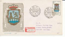 Brief/Carta Spanien/España FDC - Provincia De Orense - Madrid - 1964 - Siehe Scan *) - Spanien