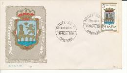 Brief/Carta Spanien/España FDC - Provincia De Orense - Orense - 1964 - Siehe Scan *) - Spanien