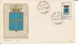 Brief/Carta Spanien/España FDC - Provincia De Oviedo - Oviedo - 1964 - Siehe Scan *) - Spanien