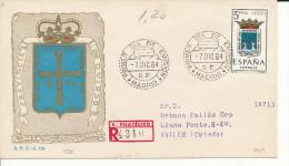 Brief/Carta Spanien/España FDC - Provincia De Oviedo - Madrid - 1964 - Siehe Scan *) - Spanien