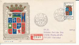 Brief/Carta Spanien/España FDC - Provincia De Palencia - Madrid - 1965 - Siehe Scan *) - Spanien