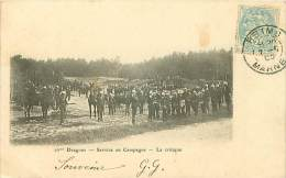 51 REIMS 16 EME DRAGONS SERVICE EN CAMPAGNE LA CRITIQUE - Reims