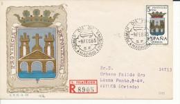 Brief/Carta Spanien/España FDC - Provincia De Pontevedra - Madrid - 1965 - Siehe Scan *) - Spanien