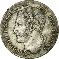 [#13230] Belgique, Léopold Ier, 1/2 Franc Tête Laurée 1834, KM 6 - 1831-1865: Léopold I