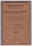 MEMENTO VADE MECUM DU PHILATELISTE - Philatélie Et Histoire Postale