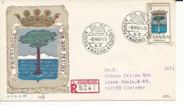 Brief/Carta Spanien/España FDC - Provincia De Rio Muni - Madrid - 1965 - Siehe Scan *) - Spanien