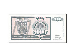 Bosnie-Herzégovine, 1000 Dinara Type 1992 - Bosnia And Herzegovina