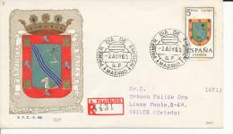 Brief/Carta Spanien/España FDC - Provincia De Sahara - Madrid - 1965 - Siehe Scan *) - Spanien
