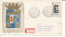 Brief/Carta Spanien/España FDC - Provincia De Salamanca - Madrid - 1965 - Siehe Scan *) - Spanien