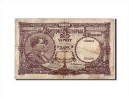 Belgique, 20 Francs Type Albert Et Elisabeth - [ 2] 1831-... : Belgian Kingdom