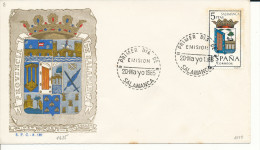 Brief/Carta Spanien/España FDC - Provincia De Salamanca - Salamanca - 1965 - Siehe Scan *) - Spanien