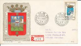 Brief/Carta Spanien/España FDC - Provincia De Santander - Madrid - 1965 - Siehe Scan *) - Spanien