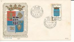 Brief/Carta Spanien/España FDC - Provincia De Segovia - Madrid - 1965 - Siehe Scan *) - Spanien
