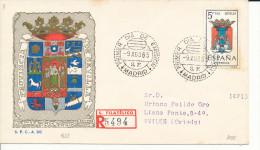 Brief/Carta Spanien/España FDC - Provincia De Sevilla - Madrid - 1965 - Siehe Scan *) - Spanien