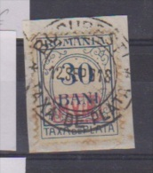 Roumanie //  Occupation All. //  Taxe  // N 4 // 30 Bani Bleu //  Oblitéré - Foreign Occupations
