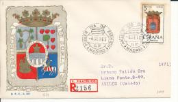 Brief/Carta Spanien/España FDC - Provincia De Soria - Madrid - 1965 - Siehe Scan *) - Spanien