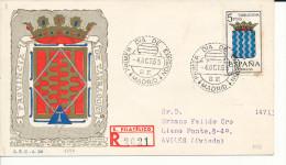 Brief/Carta Spanien/España FDC - Provincia De Tarragona - Madrid - 1965 - Siehe Scan *) - Spanien