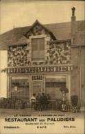 44 - LE CROISIC - Restaurant Des Paludiers - Facturier Au Verso - Carte Pub - Le Croisic