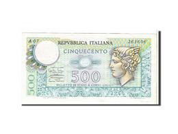 Italie, 500 Lire Type 1974 - [ 2] 1946-… : République