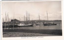 Ostseebad VITTE Auf Hiddensee Fischerhafen Kutter Flotte Am Kai 13.9.1933 Gelaufen - Hiddensee
