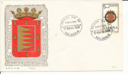 Brief/Carta Spanien/España FDC - Provincia De Valladolid - Valladolid - 1966 - Siehe Scan *) - Spanien