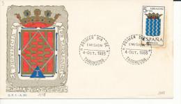 Brief/Carta Spanien/España FDC - Provincia De Tarragona - Tarragona - 1965 - Siehe Scan *) - Spanien