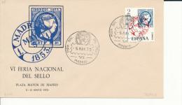 Brief/Carta Spanien/España FDC - Dia Del Sello - Madrid - 1973 - Siehe Scan *) - Spanien