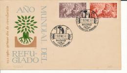 Brief/Carta Spanien/España FDC - Año Del Refugiado - Madrid - 1961 - Siehe Scan *) - Spanien
