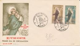Brief/Carta Spanien/España FDC - Europa - Madrid - 1963 - Siehe Scan *) - Spanien