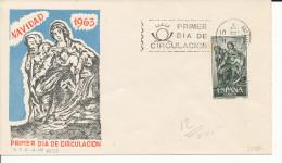 Brief/Carta Spanien/España FDC - Navidad - Madrid - 1963 - Siehe Scan *) - Spanien