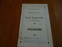 AA1-48 Marchienne 1946 - 1947 Au Pont Palmarès Ecole Industrielle Et Commerciale  - Cours D'auto - Diplome Und Schulzeugnisse