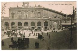 Lille, Gare Et Place De La Gare (pk20116) - Lille