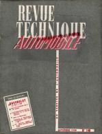 RTA - REVUE TECHNIQUE AUTOMOBILE- CHEVROLET DE 1955 A 1958- CITROEN 2CV - CAMION MERCEDES 3 ESSIEUX- SEPT. 1958- N� 149