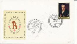 Brief/Carta Spanien/España - Exposition Filatelicia España Y America - Madrid - 1973 - Siehe Scan *) - Spanien