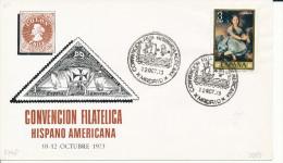 Brief/Carta Spanien/España - Convencion Filatelica Hispano Americana - Madrid - 1973 - Siehe Scan *) - Spanien