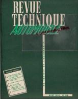 RTA - REVUE TECHNIQUE AUTOMOBILE- PONTIAC 1949 A 1957- 4CV - PUB A. DELOMBRE PARIS - AOUT 1955- N� 112